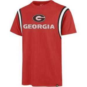 '47 Men's University of Georgia Premier Franklin Point T-Shirt Red, Large - NCAA Men's Tops at Academy Sports