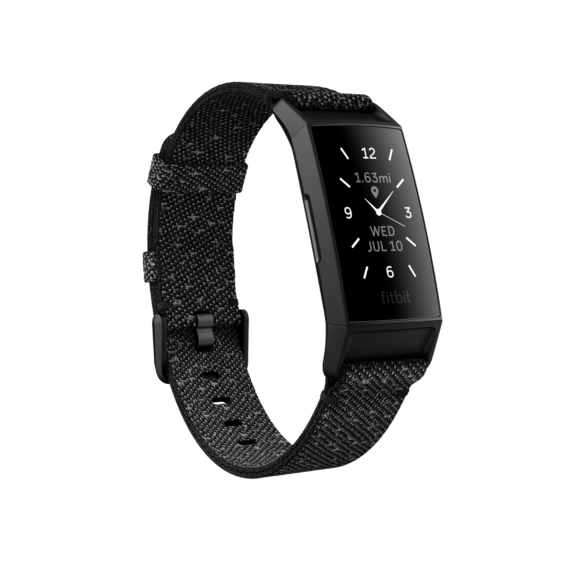 Fitbit Charge 4 Special Edition (Granite Reflective/Black)