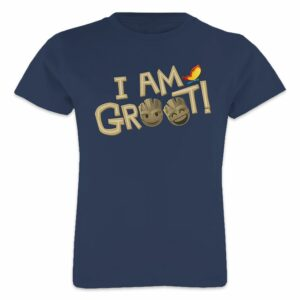 ''I Am Groot'' Text Emoji Tee for Girls Customizable Official shopDisney