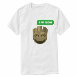 ''I Am Groot'' Text Emoji Tee for Men Customizable Official shopDisney