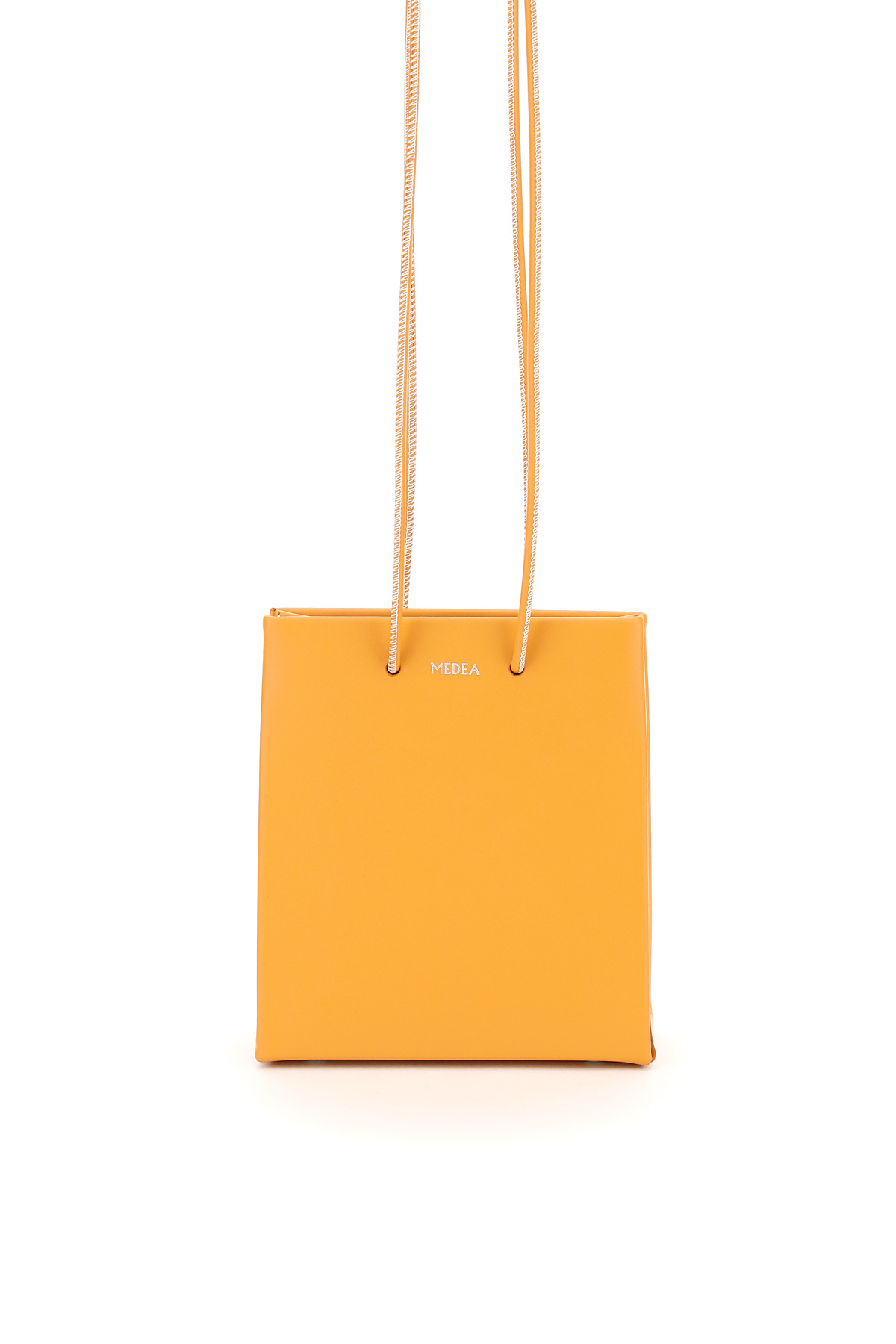 MEDEA LONGSTRAP MEDEA PRIMA BAG LEATHER SHOPPER OS Orange, Yellow Leather
