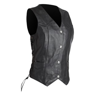 Street & Steel Highway Women's Leather Vest