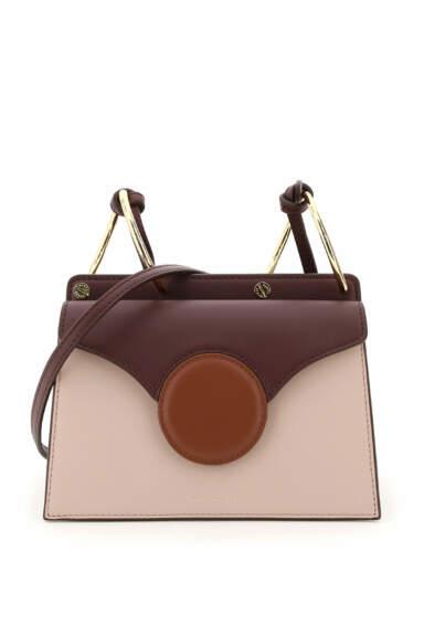 DANSE LENTE PHOEBE LEATHER MINI BAG OS Brown, Pink, Purple Leather