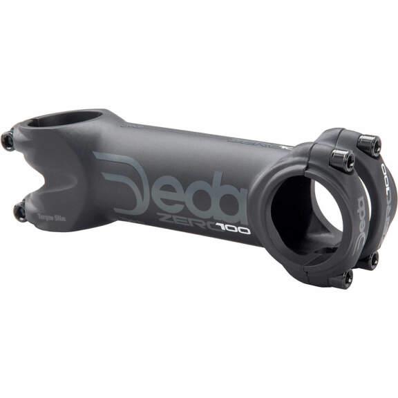 Deda Elementi Zero100 Bike Stem – 1.1/8″ – Black on Black