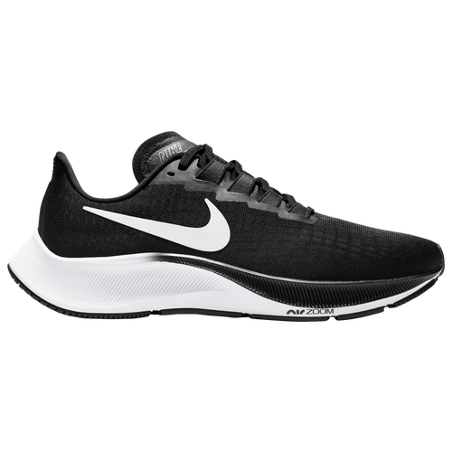 Nike Womens Nike Air Zoom Pegasus 37 – Womens Running Shoes Black/White Size 12.0