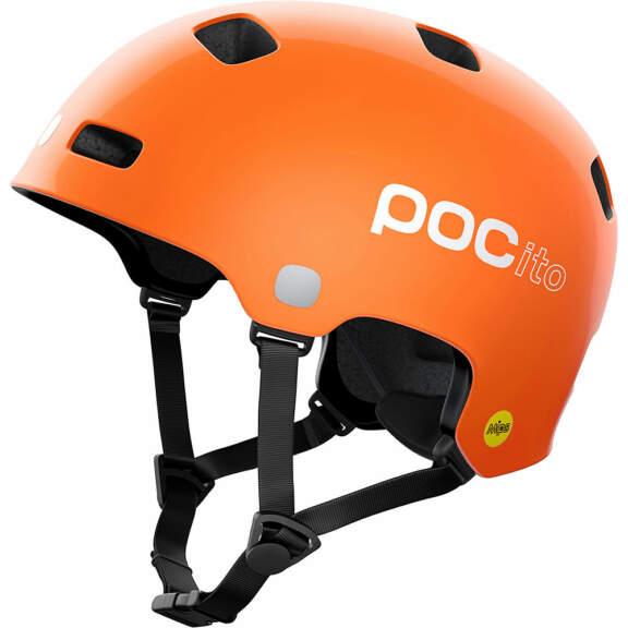 POC POCito Kid's Crane MIPS Helmet 2021 – M/L – Fluorescent Orange